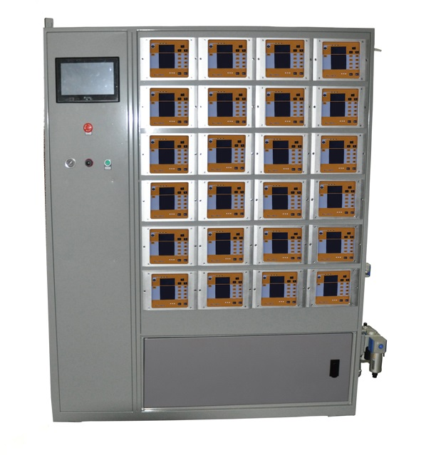 automatic powder coating control cabinet
